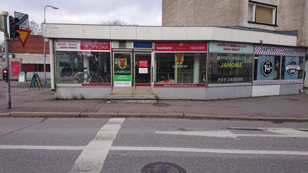 Tuusulan pyörä, Malmin raitti 2, Helsinki